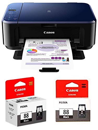 Canon E510 All-in-One Inkjet Colour Printer with PG88 & CL98 Ink...