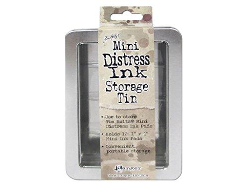 Ranger Aufbewahrungsdose für 12 Mini Distress Ink Stempel
