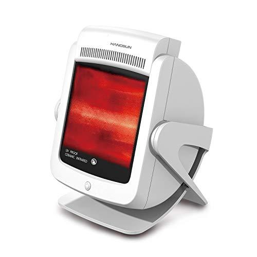 Hangsun Infrarotlampe Rotlichtlampe Wärmelampe Rotlicht Infrarot lampe IL80 Rotlichtlampen zur Verbesserung des Körperzustand, Wärmestrahler zur Enstpannung der Muskulatur