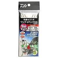 ダイワ(DAIWA) 快適カワハギ ワンデイパックSS+S スピード 7.5号