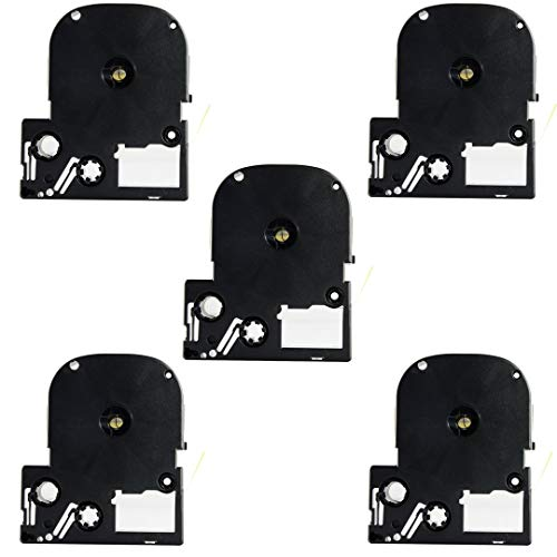 Replace Label Tape for Epson LK3WBN LC3WBN9, Label Tape Cartridge Compatible for Epson LabelWorks LW300 LW400 LW500 LW600P LW700,3/8 Inch X 26.2 Feet(9mm x 8M) (12mm Black on Yellow, 5 Pack) Photo #5