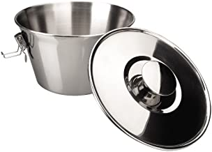 ibili Puddingvorm met deksel 18 cm roestvrij staal, aluminium, zilver