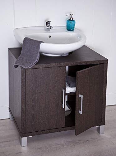 INTRADISA Mueble de baño bajo Lavabo 8915, Wengue, 70 x 67 x 45