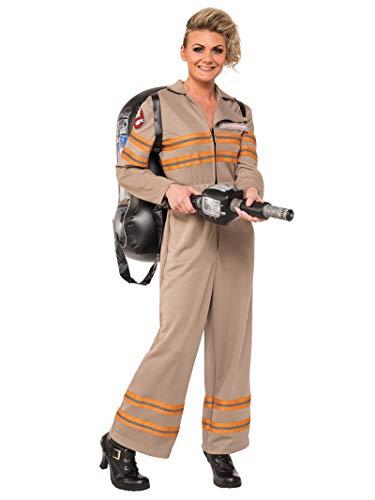 Women's Deluxe Ghostbusters Jumpsuit Costume