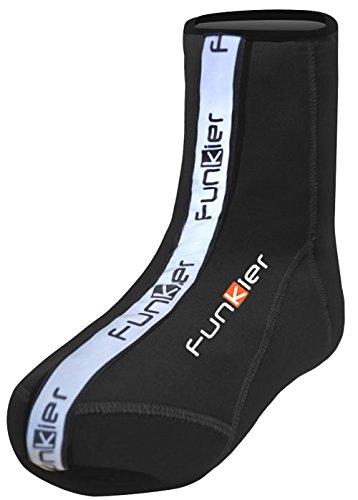 Funkier Sur-chaussures osw-06 d'hiver en néoprène en noir petit noir - Noir