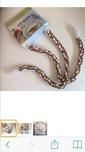 Corde Traverser Perche M - Perruches,perruches,perroquets