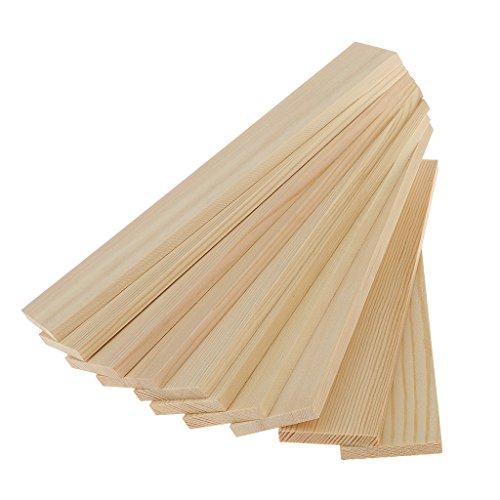 Tablas de madera de pino Magideal, 10 piezas, diseño de mad