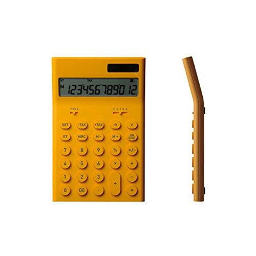 ±0 プラスマイナスゼロ 電子計算機 M (イエロー)