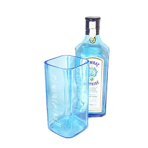 Reciclar Factory Bombay Sapphire bottle Flower Vase Pot