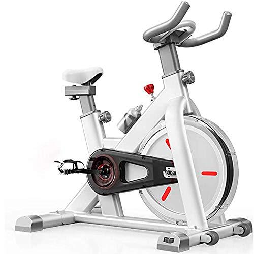 NFJ Bicicleta Estática De Spinning Fitness, Profesional Bicicleta Indoor,Resistencia Ilimitada Ajustable,App Juego...