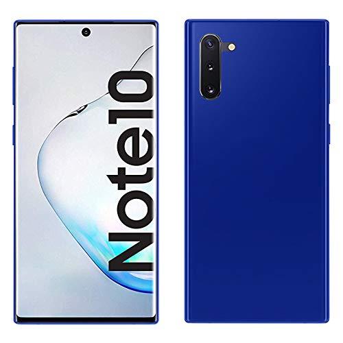 TBOC Funda de Gel TPU Azul para Samsung Galaxy Note 10 - Samsung Galaxy Note10 5G [6.3