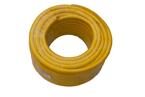 Gele tuinslang pijp versterkte Pro Anti Kink lengte 35 M Bore 12 Mm
