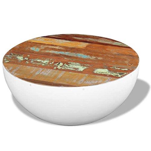 vidaXL Massivholz Couchtisch Beistelltisch Kaffeetisch Sofatisch Wohnzimmer