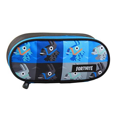 Fortnite Lama - Estuche (22,5 x 9,5 x 5 cm), color azul