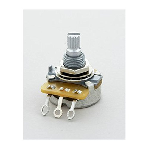 Allparts EP-0088-000 CTS Potentiometer (Poti, 1 Mega Ohm, linear, Riffelachse)