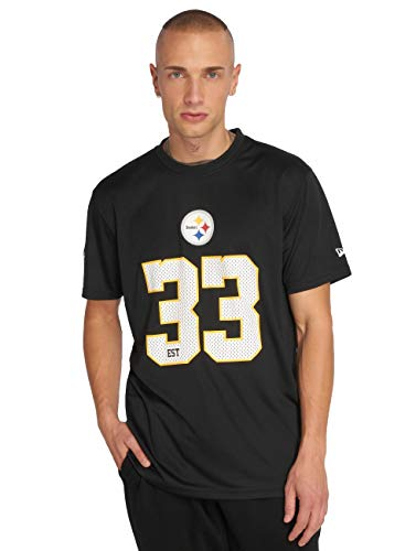 New Era Uomo Maglieria/T-Shirt NFL Team Supporters Pittsburgh Steelers