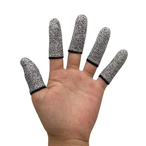 6 PCS Finger Cots Cut Resistant Protector, Finger Covers for Cuts,...