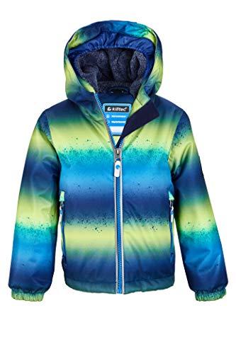 Killtec Jungen Viewy MNS Ski Jckt A Funktionsjacke Mit Kapuze Und Schneefang, neon Blue, 110/116