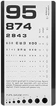 Prestige Medical Pocket Eye Chart, 0.35 Ounce