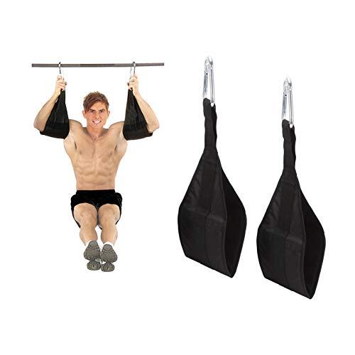 ARTISHION Bauchgurte für Klimmzugstange, Klimmzughilfen, hängende Bauchmuskeln, Klimmzuggürtel für Workouts, Beinhebung, Kniebeugen, Muskeltraining