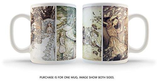 Cultzilla Vintage illustré Alice au Pays des Merveilles Mug