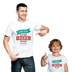 Regalo Personalizado para Padres e Hijos