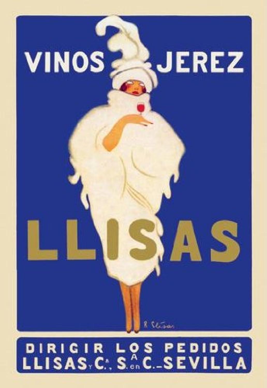 Buyenlarge 021446P2030 021446P2030 021446P2030 Vinos Jerez Llisas 20x30 poster 3e1266