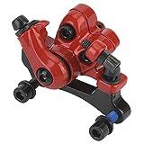 Bnineteenteam Pinza de Freno de Disco de Bicicleta, Pinzas de Freno de Disco de aleación de Aluminio duraderas mecánicas Ciclismo Delantero y Trasero Conjunto de Piezas(Rojo)