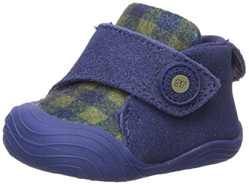 Stride Rite Girl s SR Campbell Ankle Boot, navy, 1 M US Toddler