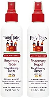 Fairy Tales Rosemary Repel Daily Kid Leave-In Conditioning Spray for Lice Prevention, 8 Fl Oz (Pack of 2)