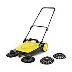 Kärcher sweeper S 4 Twin 2-in-1, geel/zwart*