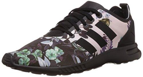 adidas Damen ZX Flux Smooth Laufschuhe, Mehrfarbig (Core Black/Core Black/Core Black), 36 2/3 EU