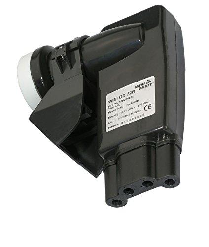 WISI OD 72 B, Twin LNB für 2 Receiver, UHD, 4K, HDTV, 3D, integrierter Wetterschutz