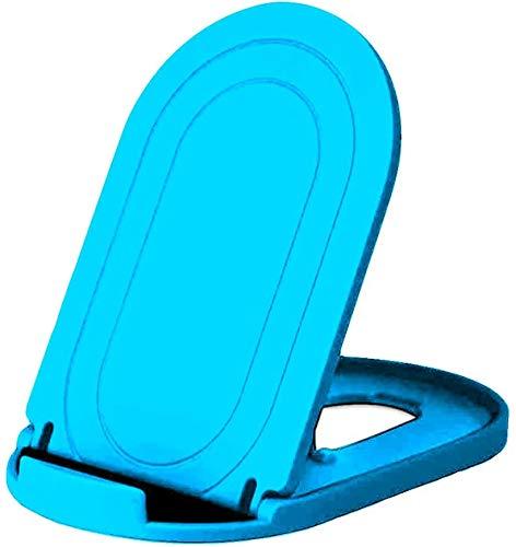 MYLB Foldable Phone Stand, Multi-Angolo Supporto Telefono Regolabile, Universale Porta Cellulare da Tavolo per Phone 11 PRO Max,se2020, Huawei, Samsung Altri 4 a 10 Pollici Smartphone e Tablet - Blu