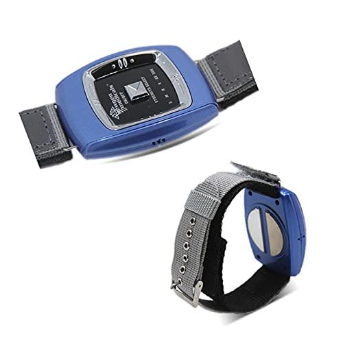 GJXJY Anti Ronquidos Pulsera, USB Recargable Dejar para Roncar Dispositivos Antirronquidos con 3 Modos y 6 Niveles, 2021 Muñequera Antirronquidos para Hombres Y Mujeres