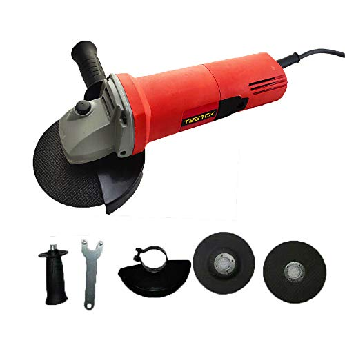 Electric Angle Grinder 115mm Cutting Grinding Sander Corded...