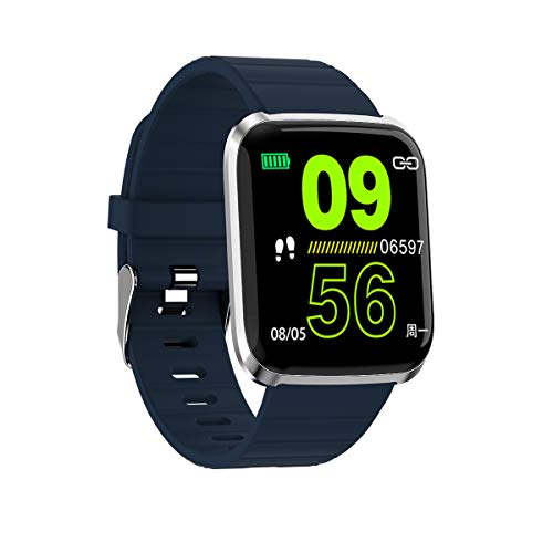 2 Health & Fitness Smartwatch with Heart Rate, Music, Alexa Built-in, Sleep & Swim Tracking, Black