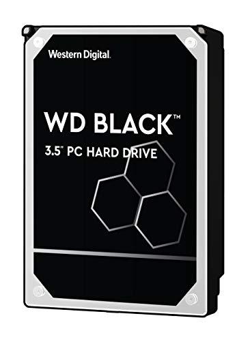 WD Black 6TB Performance Desktop Hard Disk Drive - 7200 RPM SATA 6 Gb/s 128MB Cache 3.5 Inch - WD6002FZWX