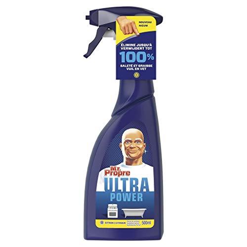 Desconocido Mr. Propre Mr Proper - Limpiador de Pistolas Lemon-Ultra (500 ml, 6 Unidades)