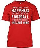 Teespring Marcel Jelenc Felicidad = Futbolín Camiseta Clásica - 100% Algodón