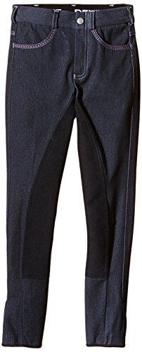 PFIFF Kinder Reithose Dina Jeans, Blau (Navy), 140, 101655-20