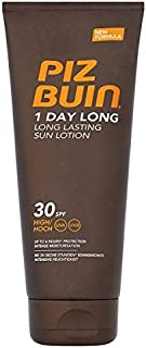Piz Buin 1 Day Long Long Lasting Sun Lotion SPF30 High 100ml