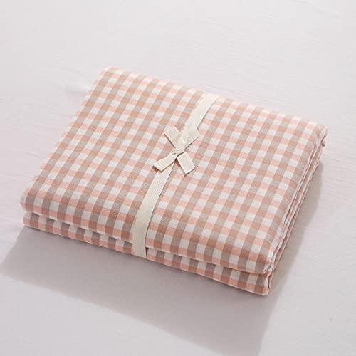 HPPSLT Protector de colchón de bambú Funda de colchón y Ajustable Sábana de algodón de una Sola Pieza a Prueba de polvo-20_90 * 200cm