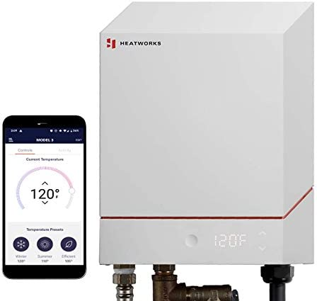 Heatworks Electric Tankless Smart Water Heater the world s only water heater without metal heating product image