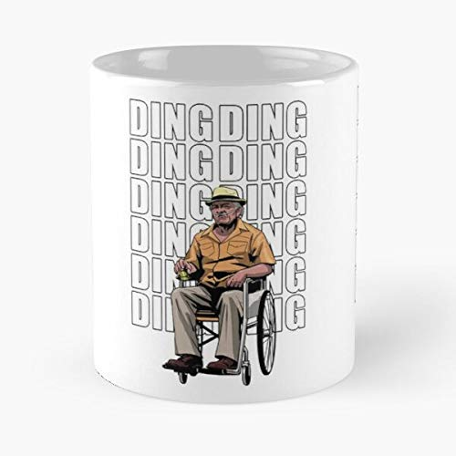 Breaking Bad Jesse Hector Salamanca Fring White Gus Best 11oz taza de café de cerámica Personalizar