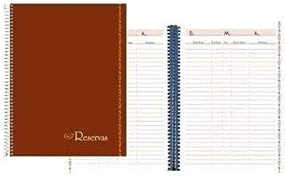 Liderpapel LR01 - Libro de reservas para hostelería