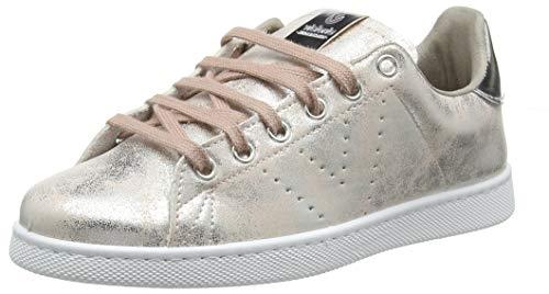 Victoria Tenis Metalizado, Zapatillas Mujer, Rosa (Rosa 42), 37 EU