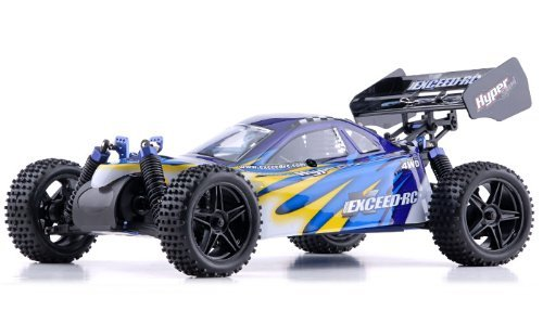 EXCEED 1/10 2.4Ghz RC Beginner Version .16 Engine Nitro Powered Off Road Buggy Color Varies Sent at Random