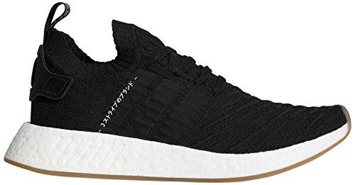adidas Originals NMD_r2 PK - Zapatillas Deportivas para Hombre, Color Negro, Talla 37 1/3 EU
