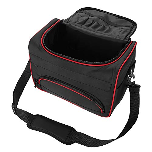 Étui de transport pour sac à main, sac de transport, outil de coiffure grande capacité pour femme pour voyage(black)